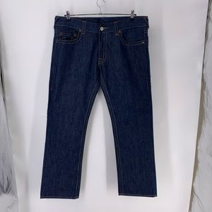 True Religion Bobby Straight Leg Jeans 38X33